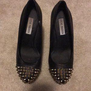Spiked Steve Madden heels